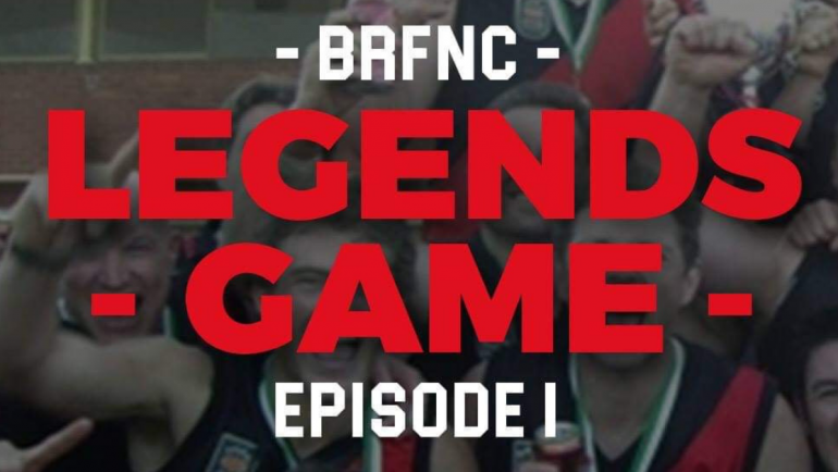 BRFNC Legends Game – Episode 1