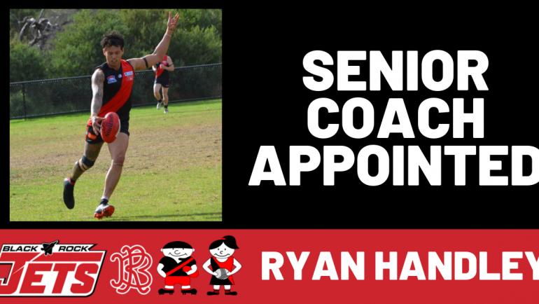 Ryan Handley Appointed Senior Coach