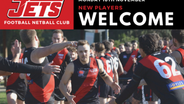 Pre-Season 2020: New Players Welcome