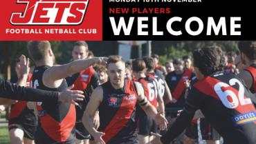 Pre-Season 2020: New Players Welcome
