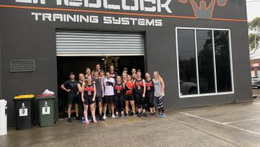 Jets training at Shedlock Training Systems