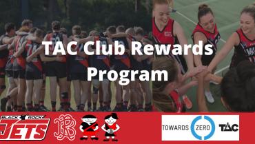Black Rock Football Netball Club – TAC Rewards Program.